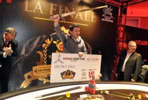 Pierre Merlin remporte le Winamax Poker Tour
